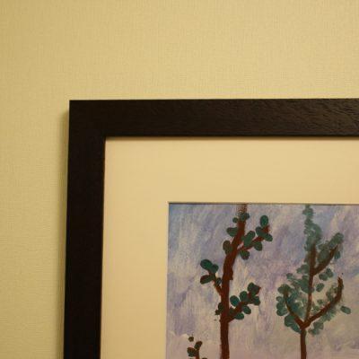 Gleznas rāmis koridorā 3