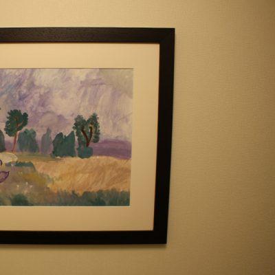 Gleznas rāmis koridorā 2